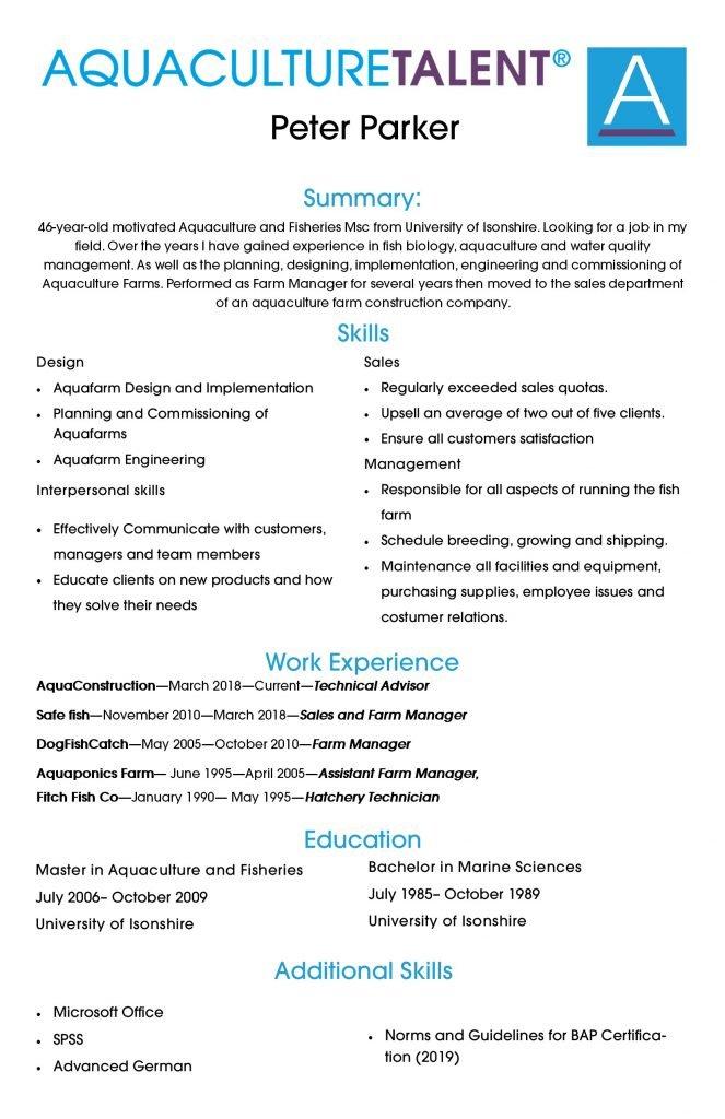 skill-based resume